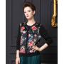 Блузка из шелкового трикотажа SHT011