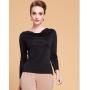 Блузка из шелкового трикотажа SHT012