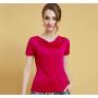 Блузка из шелкового трикотажа SHT013