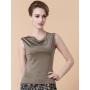 Блузка из шелкового трикотажа SHT016