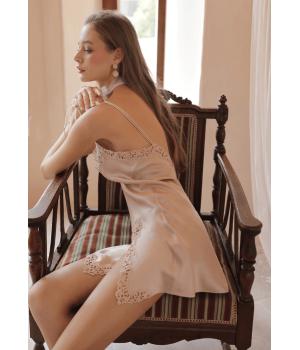 Сорочка с кружевным плетением SOR001