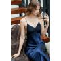 Сорочка-платье шелковая с кружевом SOR028